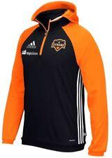 NEW Houston Dynamo Adidas MLS On Field Pullover Hooded Sweatshirt Mens XL XLarge