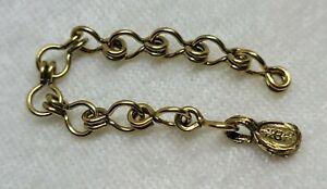 "Michael MIchaud Silver Seasons Chain Necklace 3"" Extender"