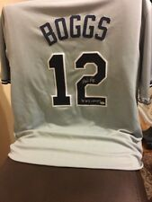 Wade Boggs Signed Authenticated Jersey (HALL OF FAMER ) 1st BALLOT!!!!