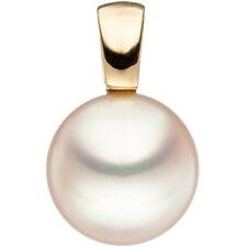 JOBO Anhänger 585 Gold Gelbgold 1 Süßwasser Perle Perlenanhänger