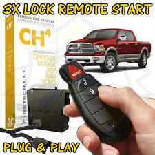 2009-2012 DODGE RAM 1500 PLUG & PLAY REMOTE START ADD ON EASY FT-CH4-DC TRUCK