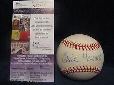 Ernie Harwell Autographed OML (Selig) Baseball w/HOF Insc. - JSA Cert