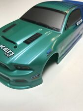 HPI Micro RS4 Painted Body HPI112815 Falken Tires Mustang 1/24 Drift Mini 140mm