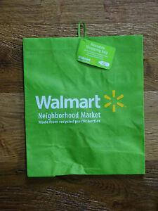 Walmart Wal Mart Tragetasche Einkaufstasche Tragetüte Plastiktüte aus den USA