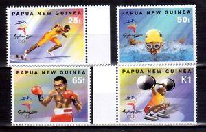 PAPUA NEW GUINEA 2000 Sydney Olympics set MUH