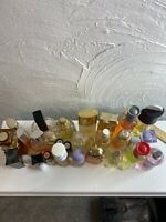Variety Lot Of 26 Women's Perfume Bottles Great Selection New & Pre-Owned