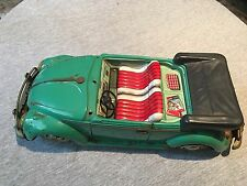 Estate Find Rarest Tin Litho Batt Operated Volkswagen Beetle Car Toy Nice Shape