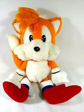 "RARE EDITION Sonic The Hedgehog Fuzzy Vintage TAILS 14"" Plush Doll SEGA 1993"