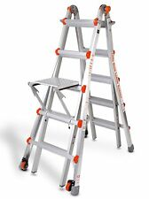 M22 Type 1A Little Giant Ladder Classic w/ Platform & WHEELS!