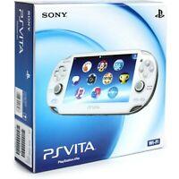 PS Vita - Konsole #3G/WiFi weiß / Crystal White + Netztl JAPAN mit OVP wieNEU