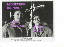 GENE HACKMAN MISSISSIPPI BURNING WILLEM DAFOE KKK ORIGINAL 8X10 PRESS PHOTO C