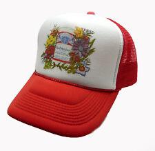 40cefc856faf8 1980 s Budweiser Beer Trucker Hat mesh hat snap back hat Red vintage New