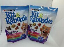 PURINA KIT & KABOODLE Original Cat Food 4 TASTY FLAVORS / 2-bags 12oz - 340g