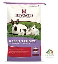 20kg Heygates Country Feeds Rabbit's Choice Pellets Rabbit / Guinea Pig Food