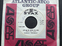 """7"""" Carla Thomas - Let Me Be Good To You/ Another Night - US Stax Promo"""