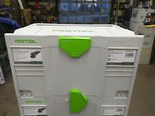 Festool Systainer T-Loc Empty From Rotex RO 150 FEQ-Plus USA