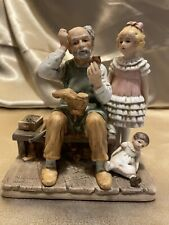 The Cobbler Limited Edition Porcelain Figurine By Norman Rockwell