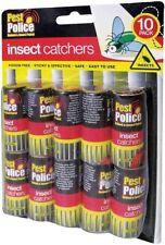 10 Fly Insecte Attrapeur Killer Piège Bande Parasite Guêpe Fourmis Vitre Bureau