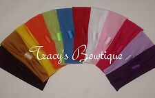 "12 Stretch 2"" Girls Interchangeable Headbands for Hair Clips Flowers or Bows*"