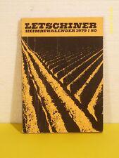 Letschiner Heimatkalender 1979/80 - DDR - Letschin