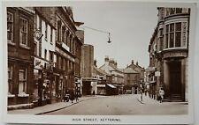 High Street, Kettering. M&L National Series. Postcard.