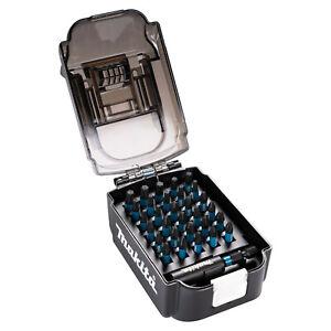 Makita Impact Black Bit Set Satz Bitbox Bitsortiment Akku Box 31tlg E-03084 25mm