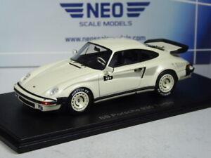 (KI-08-21) Neo Scale Models Porsche 930 turbo BB weiß in 1:43 in OVP