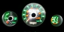 WHITE Peugeot speedfight 1&2 led dash clock conversion kit lightenUPgrade
