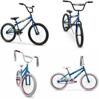 Huffy 20 Inch Boys or Girls Bike Kids Bicycle Blue Pink Durable Steel Play Ride