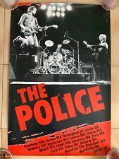 The Police 2007 Reunion Tour European Poster Very Rare