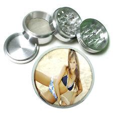 """Beach Babes Pin Up D3 Aluminum Herb Grinder 2.5"""" 63mm 4 Piece"""