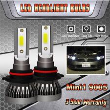 White 9005 200W LED High Beam Daytime Running Light DRL For Honda Accord Civic