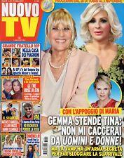 Nuovo Tv 2017 43.Gemma Galgani,Michelle Hunziker & Serena Autieri,Alex Belli