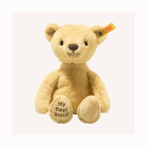 Steiff 242120 / 242038 My first Steiff Teddy GOLDEN bear with Steiff GIFT Box