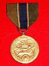 Rare Vintage Ribbon American Legion School Award Bronze Medal Semper Fidelis Art