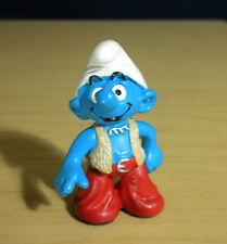 Smurfs 20520 New Techno Smurf Rare Vintage Figure PVC Toy Schleich Peyo Figurine