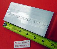 "1"" X 3"" ALUMINUM 6061 FLAT BAR 6"" long T6511 1.000"" Solid Plate NEW Mill Stock"