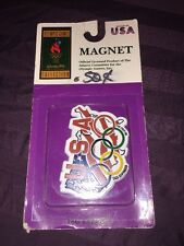 Vintage 1996 Atlanta Olympic Magnet USA Tag Expression New in package!