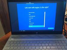 HP Pavilion 15.6, Laptop Win 10, 8GB Ram, 16 GB Optane, 1TB HD, Quad i5/8th Gen.