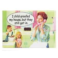 Child Proof House Fridge Magnet Funny Decor Retro Kitsch Novelty Gift Humour