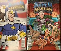 SUPER MANSION #2 STANDARD COVER A & STANDARD C COVER (TWO COMICS)