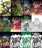 Kiss Zombies #1 A B C D 1:7 1:10 1:11 1:15 1:20 1:25 1:30 Dynamite 2019