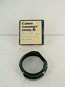 Canon Canonet Hood 5 Camera Lens Hood (A8)
