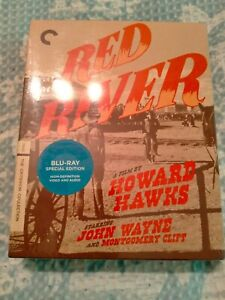 """RED RIVER  [Blu Ray] USA Region """"A"""", Brand New Condition"""