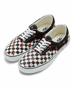 New Vans x IT House Of Terror Era Checker Shoes (VN0A4U39ZPM) - Black/ White