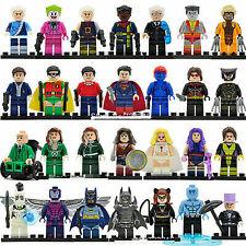 x-men Wolverine Marvel Cyclops Minifigures Deadpool Phoenix SuperHeroes Toy