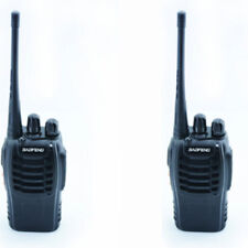 2QTY Radio Scanner Handheld Baofeng 888S UHF 400-470MHz 5W Transceiver Portable