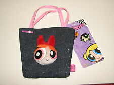 VTG Cartoon Network Powerpuff Girls Blossom Jean Purse Handbag Bag New NWT
