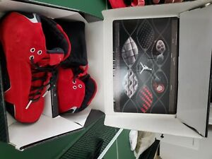 Nike Air Jordan XXI 21 RED SUEDE Size 9.5 New With Box