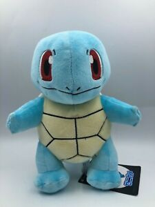 Official Pokemon Center Squirtle Blue Turtle Nintendo Plush Stuffed Toy Animal